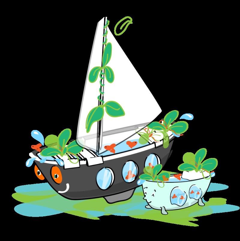 Le premier bateau aquaponique de France